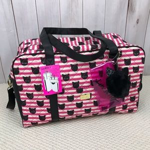 Betsey Johnson Weekender Bag NWT LBCruisin